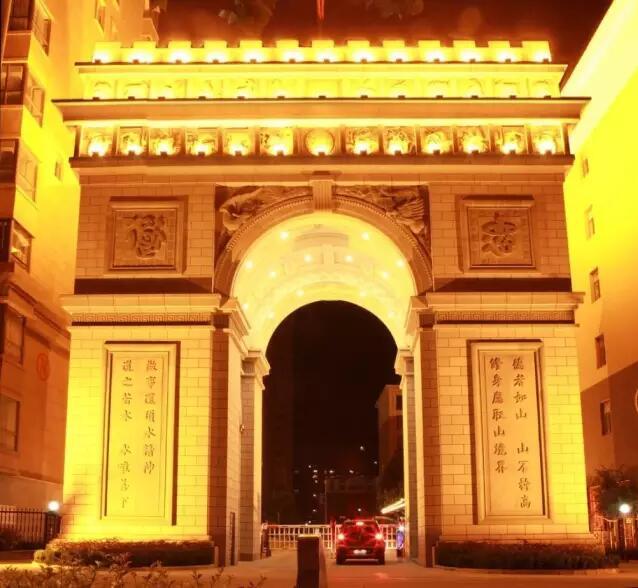 运城最美夜景,值得一看!!!