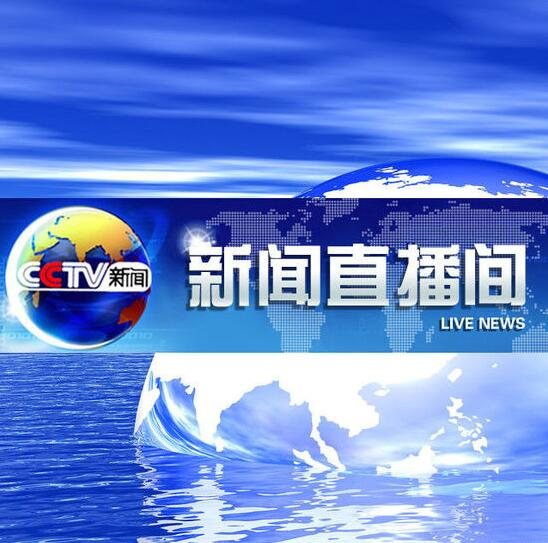 中央电视台新闻直播间对鼎鑫置业·地标广场项目再次进行报道